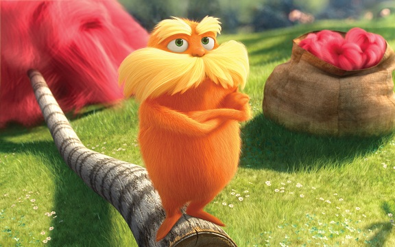 Movie Review: Dr. Seuss' The Lorax (***)