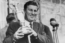 Five time British Open champion Peter Thomson dies of Parkinson's Disease