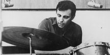 Hal Blaine behind the drums in 1970. He was at his peak as a studio musician.