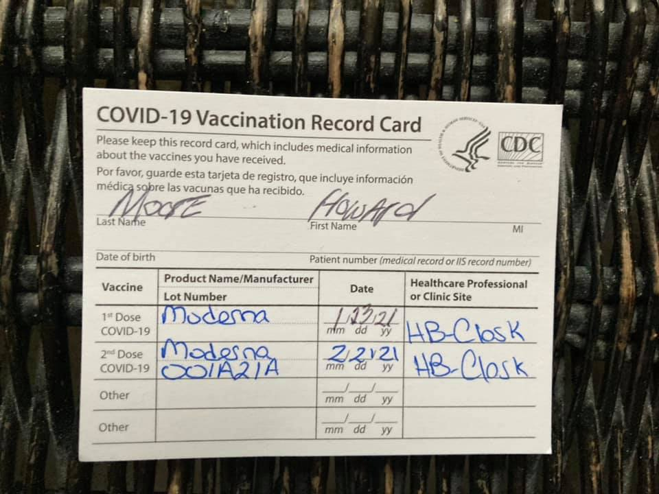 The clusterfuck of working the Covid-19 vaccination system