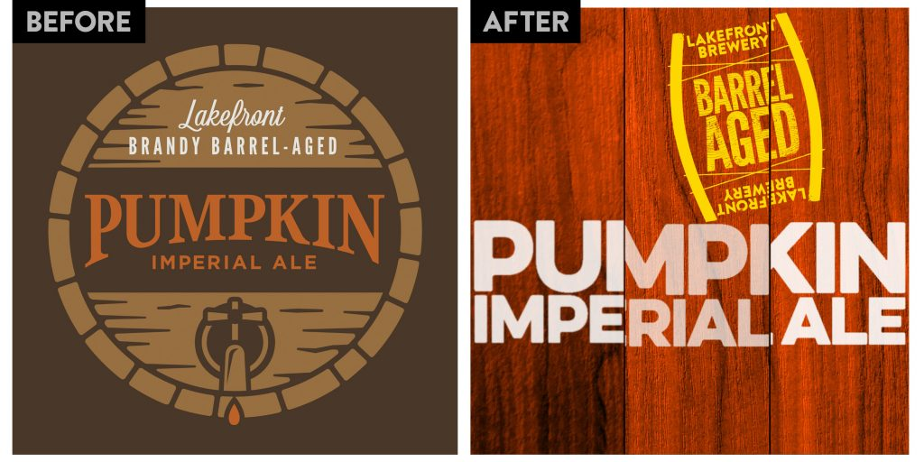 Lakefront Brewery Pumpkin Imperial Ale New Logo