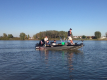 High School Anglers do Lake Management Project
