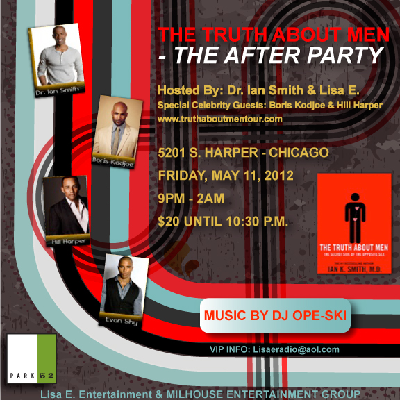 Weekend Event: Truth About Men Afterparty