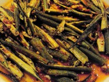 Roasted Okra, Only 30 Calories