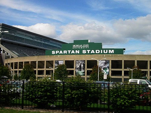 This is Sparta! GameDay Rolls Into East Lansing