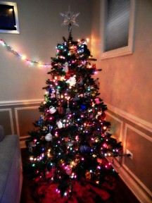 Our tree : )