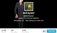 "<blockquote class=""twitter-tweet""><p>Lists of people to follow on Twitter are dumb, but are even dumber if I'm not on them.</p>— delrayser (@delrayser) <a href=""https://twitter.com/delrayser/status/316193243559763969"">March 25, 2013</a></blockquote> <script async src=""//platform.twitter.com/widgets.js"" charset=""utf-8""></script>"
