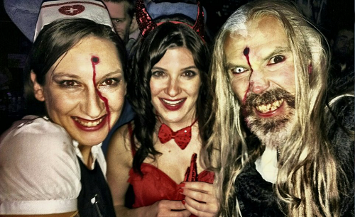 An expat Halloween in London, UK