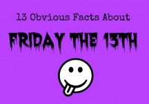 13 obvious facts about Friday the 13th