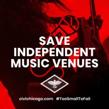 CIVL Service: Saving Our Independent Music Venues