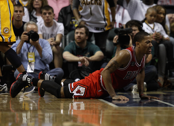 Brick-tastic Bulls Couldn't Execute Sweep -- or Much of Anything -- in Indy