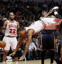 D-Rose Hurt Wrist and Ankle in Win Against Pacers, 'Questionable' for Wednesday
