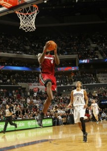 Dunk Porn: LeBron Puts on a Show for Jordan (Video)