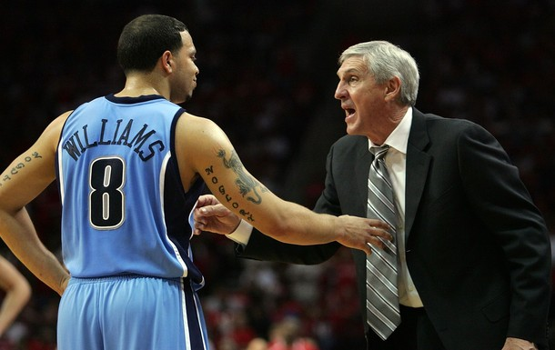 Jerry Sloan Resigns Following 'Clash' With D-Will at Halftime of Loss to the Bulls (Video)
