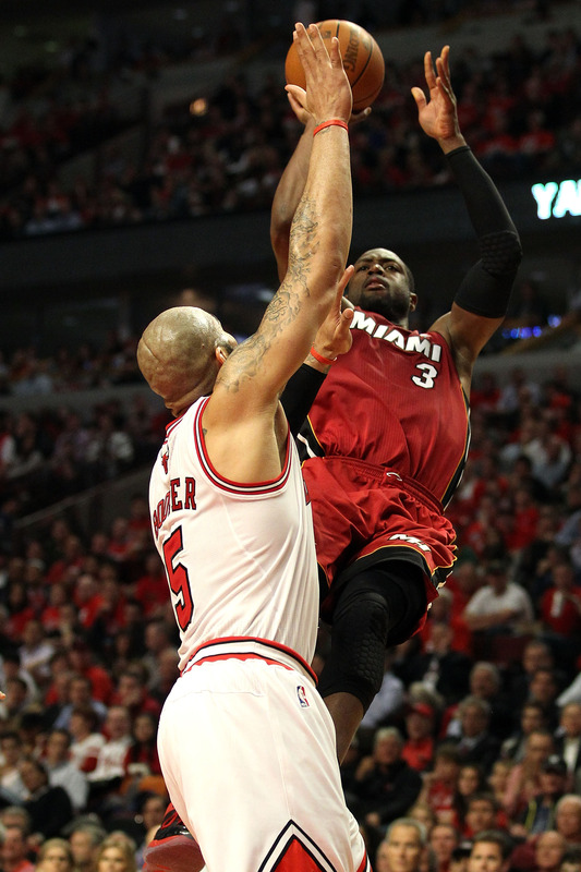 Bulls Choked in Game 5, But the Heat Hit Some Damn Crazy Shots (Video)