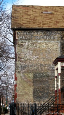 Ghost Signs: Pawlansky Brothers Meat Market