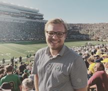 Cheer on the Irish: A Notre Dame Interview
