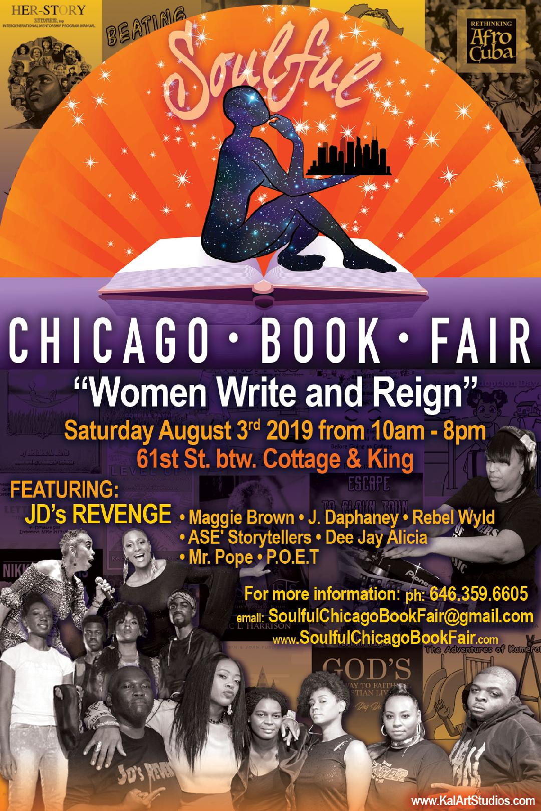 If you're not going to Lolla, give the Soulful Chicago Book Fair a Holla!
