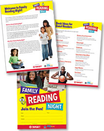 Target's Family Reading Night packet