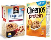 Protein is the Breakfast Trend Cheerios and Quaker are Banking On
