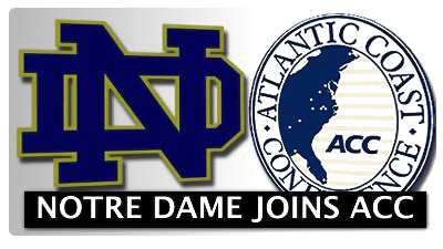 Notre Dame Set to Jump From Big East to ACC Next Year
