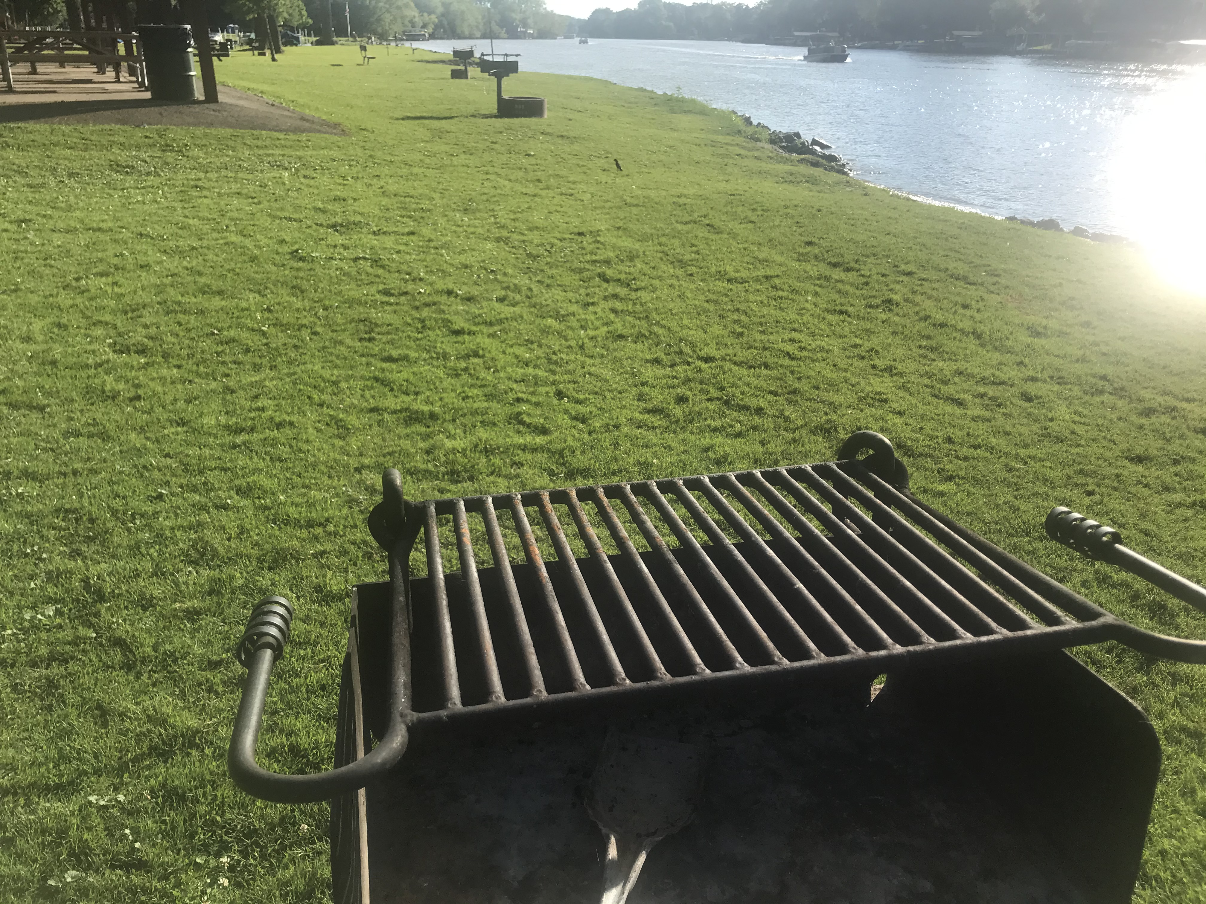 That grill at the park