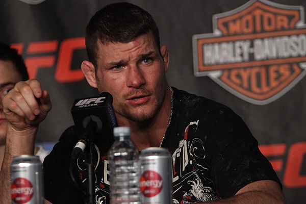 Michael Bisping Doesn't Care What You Think