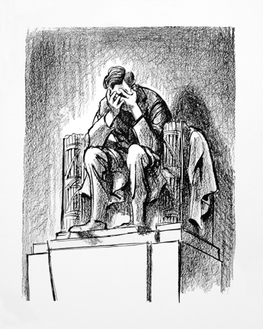 Grieving Lincoln, Bill Maulden, Chicago Sun Times, November 23, 1963