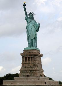 The Statue of Liberty, Ellis Island