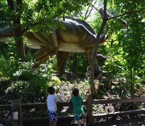 Dinosaurs Alive Brookfield Zoo: A Little Dino Lover's Dream