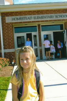 First day of Kindergarten for our oldest
