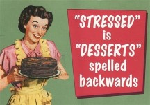Stress... with soreness and swelling?