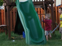 These Are the Days of Swingset Destruction