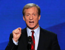 Need to Impeach Founder Tom Steyer Wows 'Em at Women's March Chicago