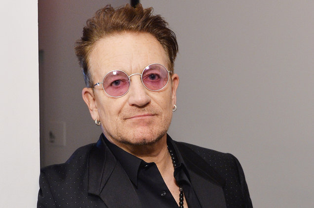 U2 Frontman Bono Speaking About AIDS, Poverty in Chicago