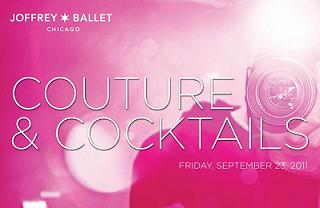 Couture and Cocktails with the Joffrey Ballet
