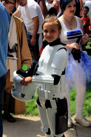 Aren't You A Little Short To Be A Stormtrooper? The Passing of the Armor to A Bullied Little Girl