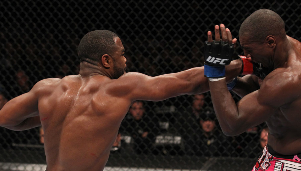 UFC in Chicago last night: Rashad Evans' win served as preparation for Jon Jones match