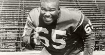 Throwback Thursday:  Houston Antwine, the greatest two-way lineman in SIU history