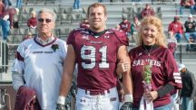 Former SIU player hailed as hero released from hospital after  school shooting