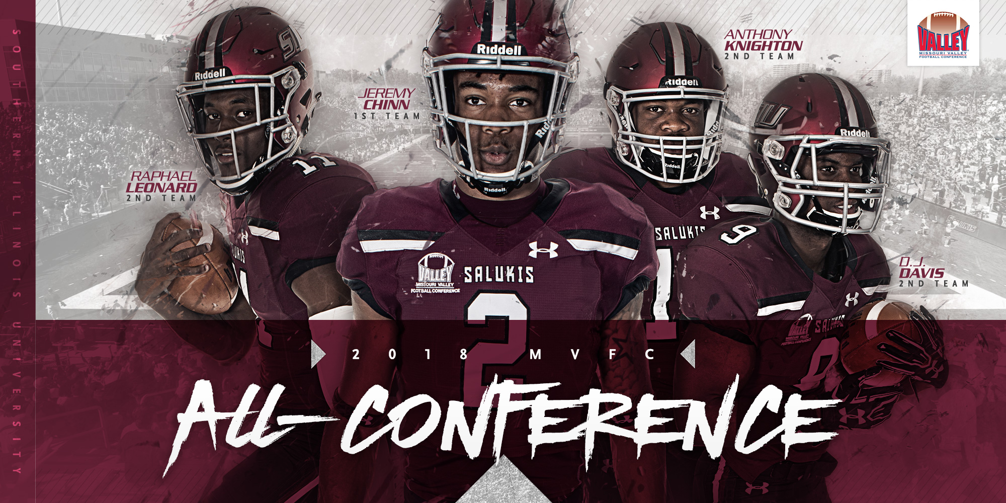 Multiple Salukis named All-Missouri Valley Football Conference