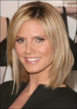 Swell Want To Look Younger Heidi Klum Has The Best Haircut For You In Hairstyles For Women Draintrainus
