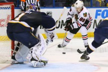 Now that is what I call Hockey: Chicago Blackhawks 5, Blues 2.