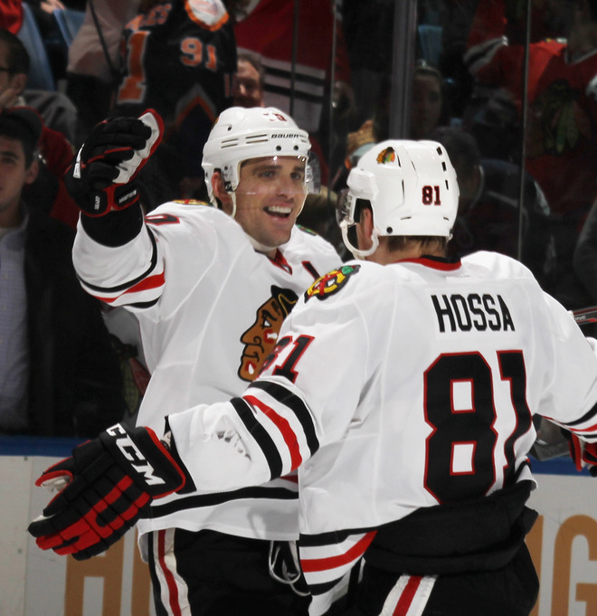 Too Sharp to hold: Chicago Blackhawks win in OT.