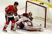 Melancholy and the Infinite Sadness: Chicago Blackhawks earn a point.