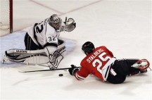 The Chicago Blackhawks: Fall in OT to the Kings.