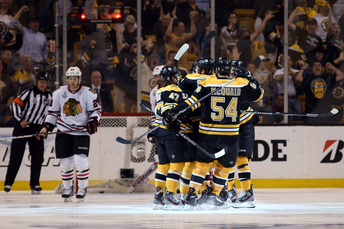 Boston Bruins take the series lead 2-1: Warning, Rants to follow here.