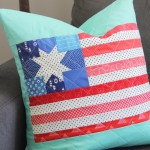 Flag-pillow-and-block-tutorial