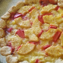 Pi Month Special: πneapple-Rhubarb Pie