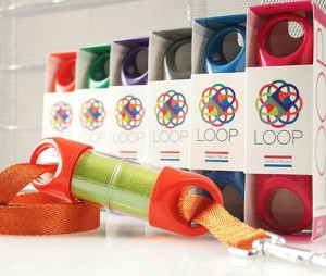 The Loop is sleek, durable and drop and drag proof.